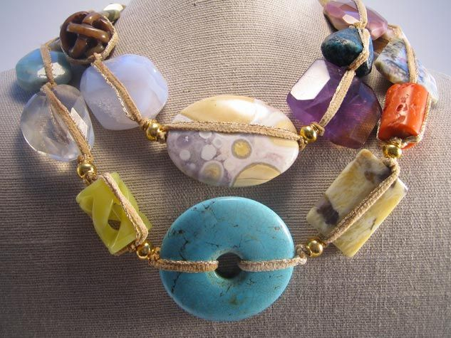 Chunky Stone Necklaces
